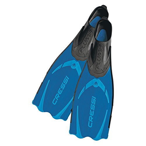 Adult Snorkeling Full Foot Pocket Fins | Cressi Pluma - made in Italy by Cressi: quality since 1946