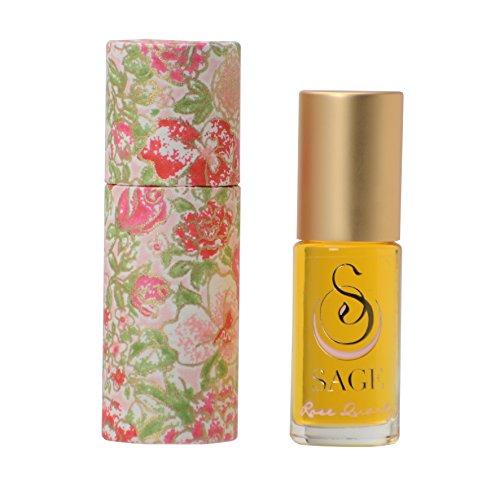 (Sage Machado Rose Quartz Perfume Oil Roll On — 1/8)