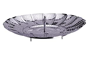 Prepworks by Progressive Stainless Steel Steamer Basket - 11 Inch