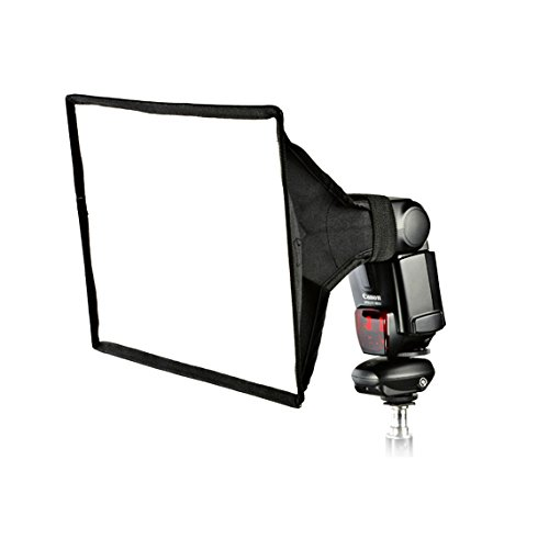 "PhotoTrust 8""×12"" Universal Collapsible Square Softbox Diff"