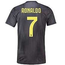 7e4a1f40c3157 Scshirt 2018 2019 Ronaldo 7 Juventus Away - Playera de fútbol para Hombre  (Talla