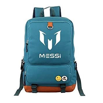 Logo Messi Mochilas Teenagers Mochila Escolar Mochila de Viaje para Mujer: Amazon.es: Hogar