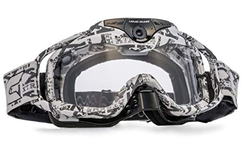 Liquid Image Torque Series HD Video Goggles White/Clear Lens ()