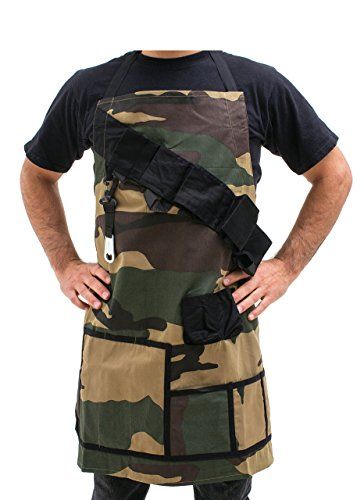 BigMouth Inc The Grill Sergeant BBQ Apron, Cotton Camouflage Gag Gift for Cookouts, Adjustable Strap, Pockets and Bottle Opener Included by BigMouth Inc (Image #3)
