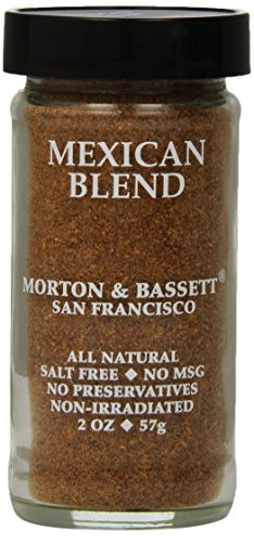 Morton & Basset Spices, Mexican Blend, 2 Ounce (Pack of 3) by Morton & Bassett