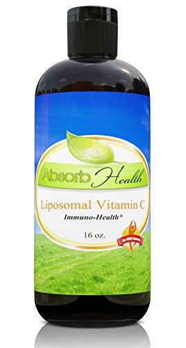 Liposomal Vitamin C | Best Price on the Net | 1 Gram of Vit C in Every Teaspoon (4 oz.)