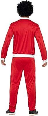DISBACANAL Disfraz chándal Rojo años 80 Hombre - -, L: Amazon.es ...