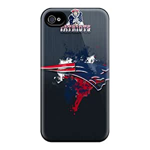 Protector Hard Phone Covers For Iphone 6plus With Provide Private Custom Lifelike New England Patriots Skin DannyLCHEUNG