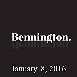 Bennington, Michael Ian Black, January 8, 2016