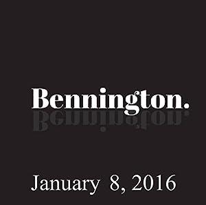 Bennington, Michael Ian Black, January 8, 2016 Radio/TV Program