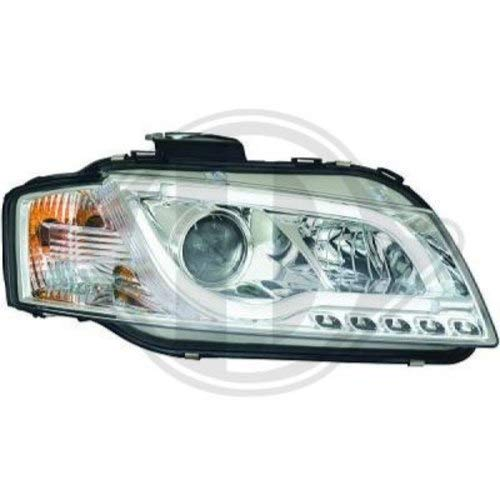 APUK PAIR of Front Headlights Headlamps Head Light /& Plugs Compatible with JCB Loadall Loader Teleporter