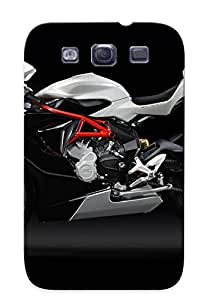 New Snap-on Exultantor Skin Case Cover Compatible With Galaxy S3- 2014 Mvagusta F3 800 Superbike Bike Motorbike F3