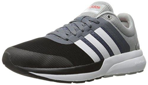 adidas NEO Men's Cloudfoam Flow 2.0 Running Shoe, Clear Onix/White ...