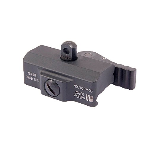 American Defense AD-BP STD Riflescope Bipod Mount (Black) ()