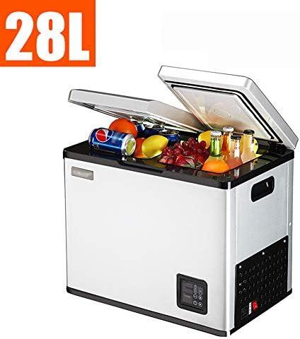 寮のドア 車庫、キャンピングカー、地下室またはオフィス用の両開きドア冷蔵庫18L / 28Lポータブル冷蔵庫冷凍庫12V / 24V / 220Vクーラー