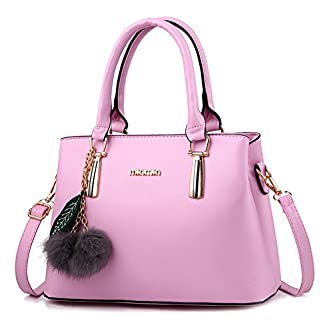 aa7c865d48 Now on Amazon. Dreubea Women s Leather Handbag ...