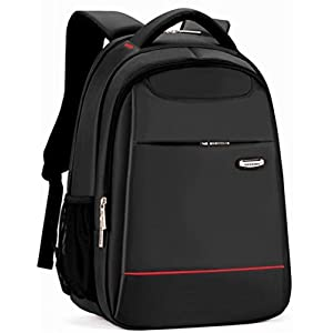 Business School Laptop Backpack hiking best Computer travel backpack book bag Black Gear for Student Waterproof Water Resistant Unisex Fits Most 15 Inch Laptops and Tablets ipad (Black01)