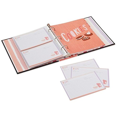 Hallmark So Many Desserts Recipe Organizer Book