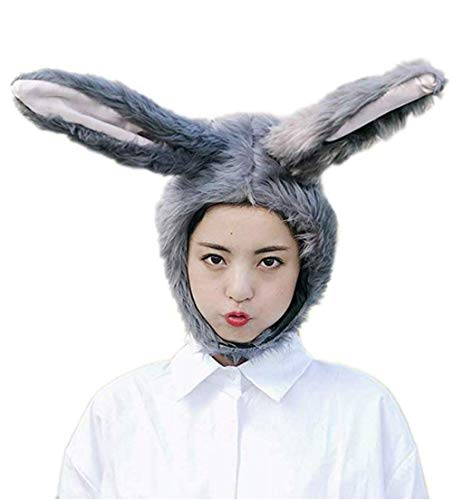 Funny Fur Rabbit Bunny Girl Animal Hat Winter