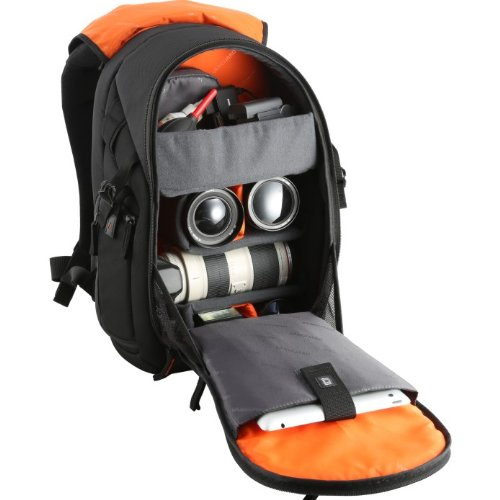 Vanguard The Heralder 46 Back Pack for Camera and Accessories (Black)