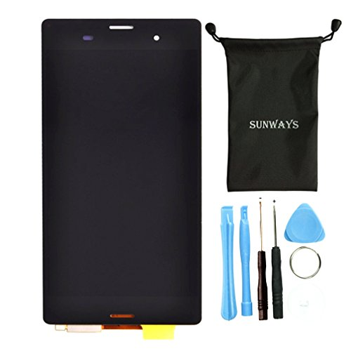 Sunways LCD Display Touch Digitizer Screen Assembly Replacement Screen For Sony Xperia Z3 L55T L55U D6653 D6633 D6603