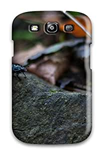 Rugged Skin Case Cover For Galaxy S3- Eco-friendly Packaging(beetle) 1242235K96270838