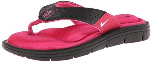 f0507823adca ... coupon code for nike womens comfort thong black vivid pink white sandal  5 b medium buy