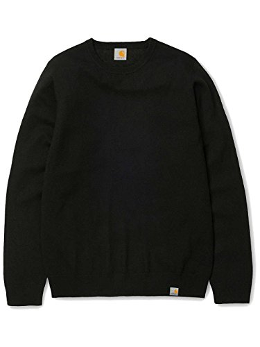 CARHARTT WIP - - Homme - Sweatshirt Col Rond Maille en Laine Playoff Noir pour homme