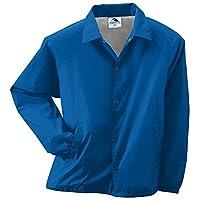 Augusta Sportswear Unisex-Adult Nylon Coach's Chaqueta /Forro, Royal, Large