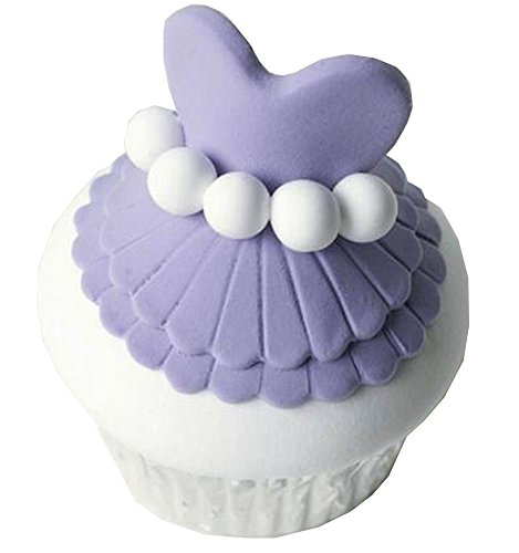 Simulation Cupcake Artificial Fake Cake Party Decor Purple [Skirt] (Fake Birthday Cakes For Display)