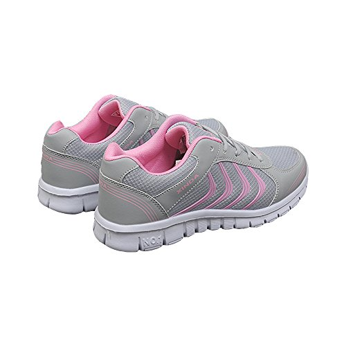Casual Running Unisex Another Sport Couple Summer amp;pink Shoes Grey BFn1qR