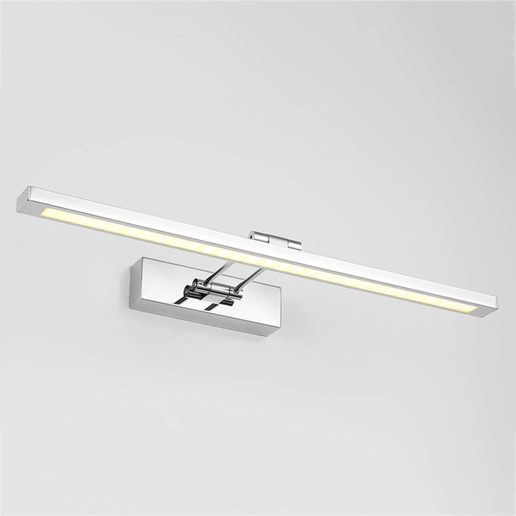 Fenciayao ファッションミニマリストのステンレス鋼の浴室LEDミラーランプの寝室のメイクアップランプ(カラー55CM暖かい白) (Color : Warm Light, サイズ : 80cm) 80cm Warm Light B07QNHHWFW