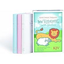 KJV Baby's New Testament, White Imitation Leather