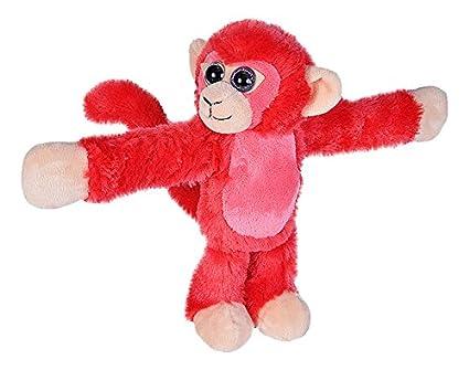 8726ab247dd49 Amazon.com  Wild Republic Huggers Red Monkey Plush