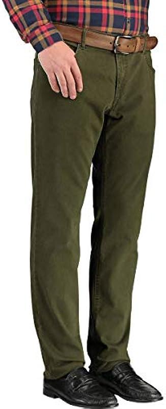 BRAX dżinsy bawełniane styl Chuck Hi-Flex zielone męskie: Odzież