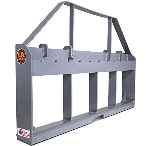 - Titan Attachments UA Made in The USA Skid Steer Pallet Fork Frame