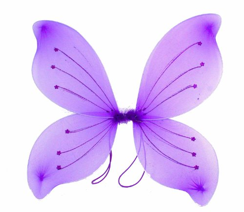 16x18 Fairy Wings Butterfly Costume - Purple by eS (Baby And Kids Butterfly Costume)