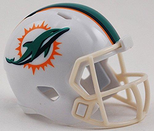 Riddell Miami Dolphins Originalnachbildung Speed Pocket Pro Micro/Kamerahandys/Mini Football Helm 095855320632
