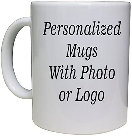 Amazon.com: Personalized Coffee Mug 11oz with - Add pictures, logo, or  text!: Kitchen & Dining