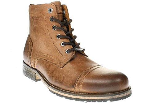 Pepe Melting Med - Herren Schuhe Stiefel Boots - PMS50115-859-tobacco