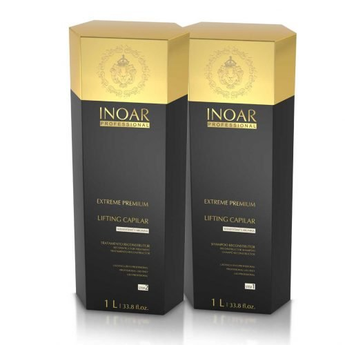 Inoar Moroccan Brazilian Keratin Hair Straightener Treatment - Smoothing Capillary (2 X 1 Litre) by Inoar
