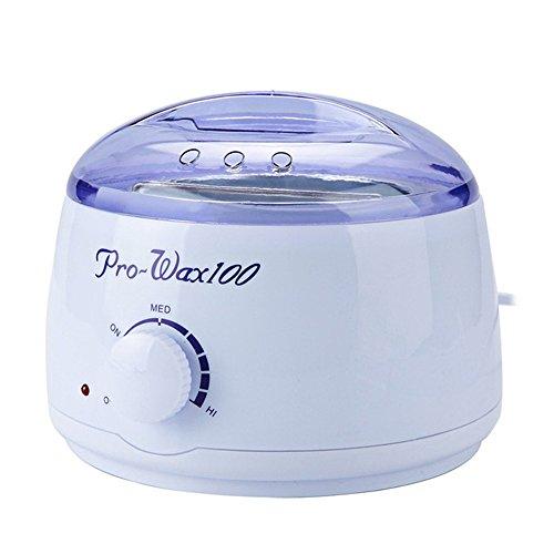 Anself Household Hot Wax Warmer Heater Mini SPA Wax Kerotherapy Electric Hair Removal Melting Pot Depilatory Machine (Type 1)