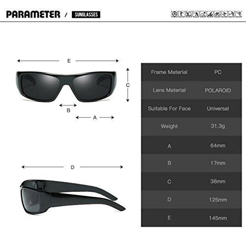 a87d366510 JULI EYEWEAR JULI Moda Polarizadas Deportes Gafas de sol Hombre Mujer 1418  50% de descuento
