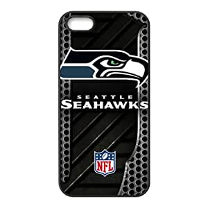 Seattle Seahawks Design Solid Customized Cover Case for iPhone 5 5s 5s-linda898
