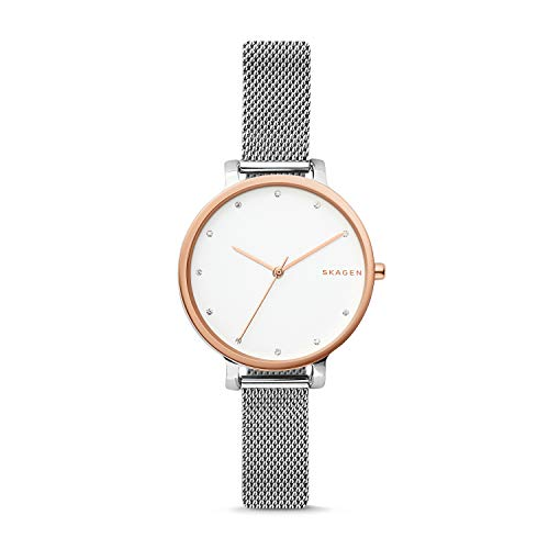 Skagen Women's Hagen Two Tone Stainless Steel Mesh Watch SKW2662