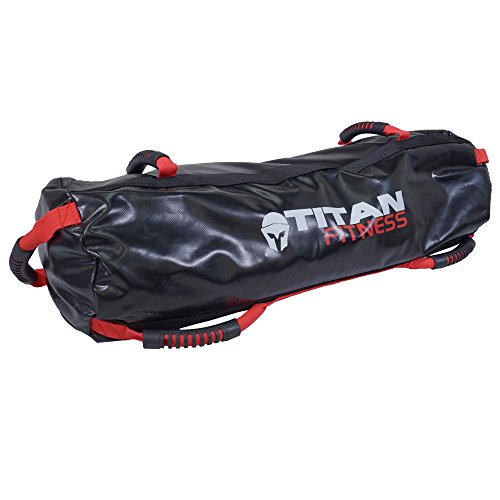Titan Fitness 60 lb Heavy Duty Workout Weight Sandbag Exercise Training Bag by Titan Fitness