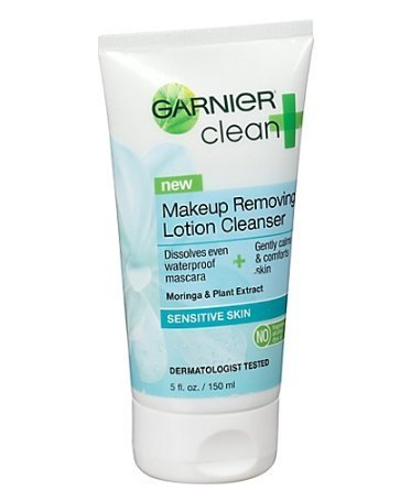 Sensitive Skin Makeup Removing Lotion Cleanser by Garnier Cl