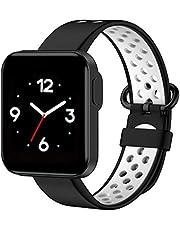 Silikonarmband, ersättningsrem, ersättningsarmband Tvåfärgat silikonarmband Kompatibel med Xiaomi Mi Watch Lite/Redmi Watch Lite Smart Watch