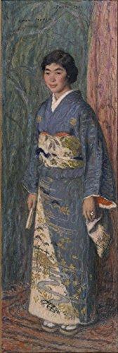 Edmond-François Aman-Jean - A Japanese Woman Mrs Kuroki - Large - Semi Gloss - Brown - Eyewear Frames Japanese