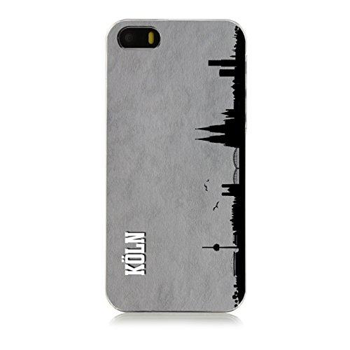 Arktis iPhone SE Skyline Case Schutzhülle Hülle - Köln
